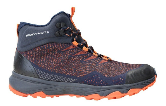 Bota Montagne Mujer Alpes Track Trekking Impermeables Cuotas