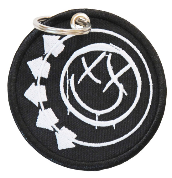 Chaveiro Patch Bordado P/ Mochila Album Banda Rock Blink 182