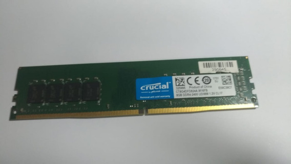 Memoria 8gb Ddr4 2400 Crucial