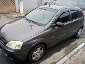 Corsa Hatch Joy Cinza 2005/2006 Flex