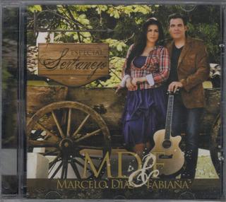 Cd + Playback Marcelo Dias & Fabiana - Especial Sertanejo