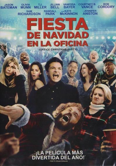 Fiesta De Navidad En Oficina Jennifer Aniston Pelicula Dvd
