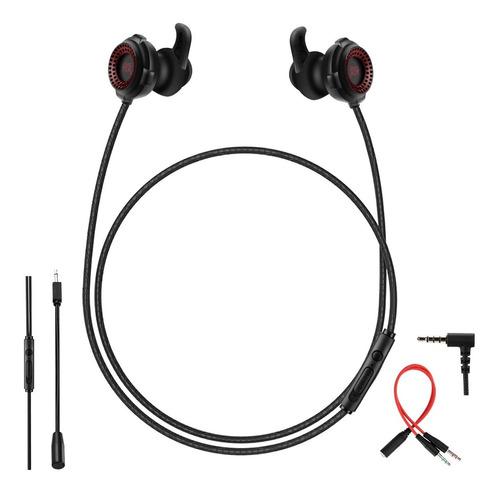 Imagen 1 de 7 de Audífonos Para Juegos Con Cable En La Oreja Con Micrófono