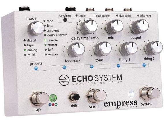 Echosystem Empress Effects Delay Pedal