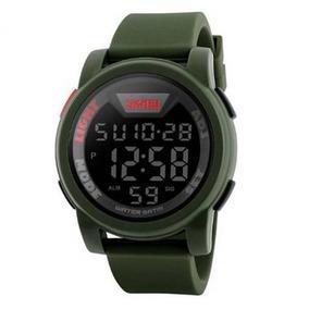 Relógio Digital Esportivo Skmei 1218 Shock Verde Original