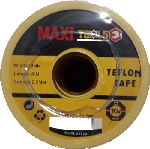 Teflón De 3/4 Maxi Profesional 20mts Paq De 10 Piezas
