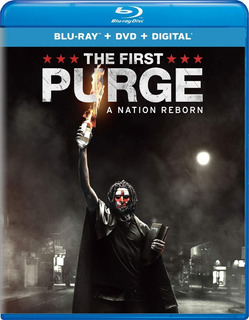 Blu-ray + Dvd The First Purge / 12 Hs Para Sobrevivir Inicio