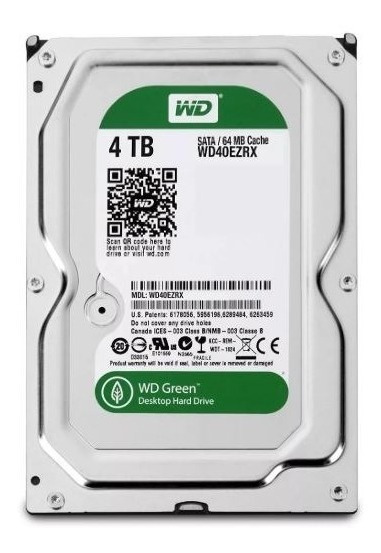 Disco Duro Western Digital 4tb Green
