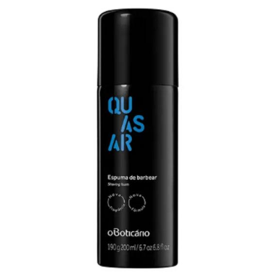 Quasar Espuma De Barbear Nova Fragrância Fresco 200ml Barba