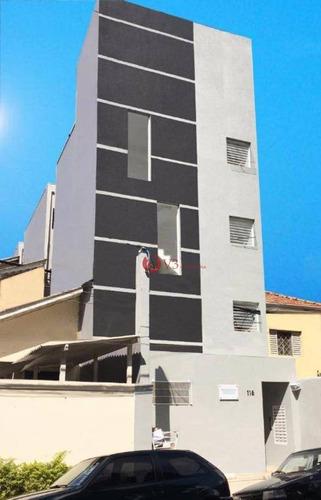 Kitnet Com 1 Dormitório Para Alugar, 20 M² Por R$ 910,00/mês - Chácara Seis De Outubro - São Paulo/sp - Kn0003