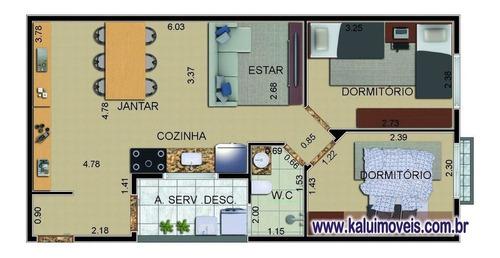 Cobertura 45m² - Capuava - 75377
