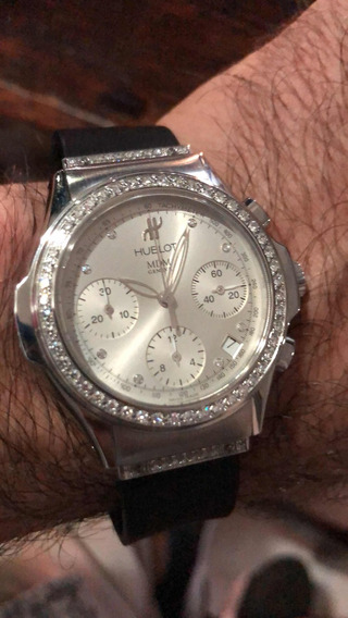 Reloj Hublot Mdm Geneve Con Diamantes.