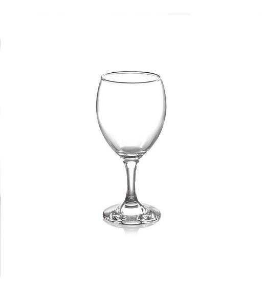 Set Copas De Vino De Vidrio 240 Ml X 6 Unidades $um