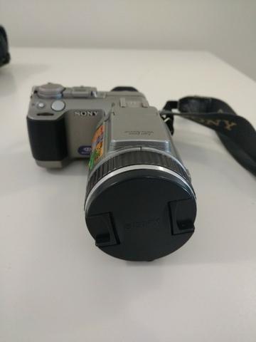 Câmera Digital Sony Cyber Shot Dsc-f707 - Usada