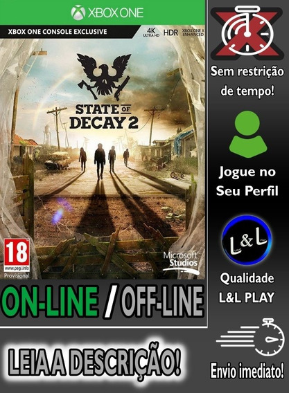 State Of Decay 2 Xbox One Digital + Jogo Brinde