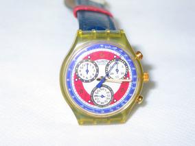 Rélogio Swatch Chronografo Colors Raro Leia Tudo!!