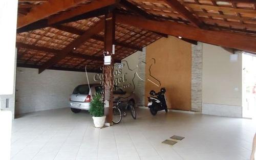 Sobrado A Venda No Bairro Jardim Real Em Praia Grande - Sp.  - 3243-1