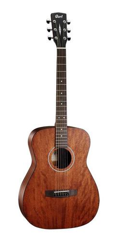 Imagen 1 de 3 de Cort Af510 Mahogany Guitarra Acustica Con Funda