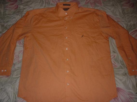 E Camisa Nautica Vintage Oxford Talle Xxl Art 89221