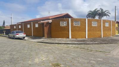Casa Grande Com Piscina E Churrasqueira Em Itanhaém