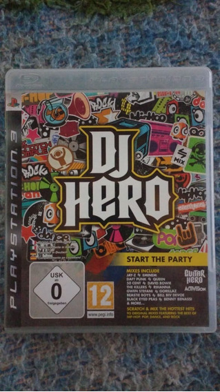 Dj Hero - Mídia Física - Ps3