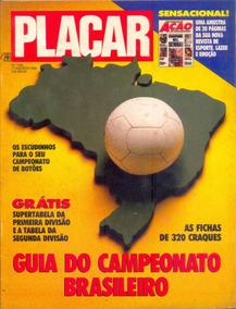 Placar Nº 1052 - Guia Do Campeonato Brasileiro De 1990