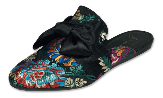 Calzado Dama Mujer Zapato Flat Casual Clasben Negro Cómodo