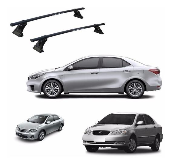 Rack De Teto Para Carro Toyota Corolla 96 / 2017 - Eqmax Aço