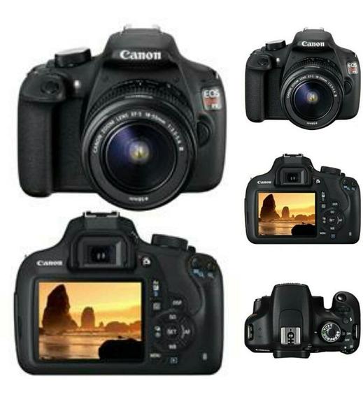 Câmera Digital Canon Eos Rebel T5