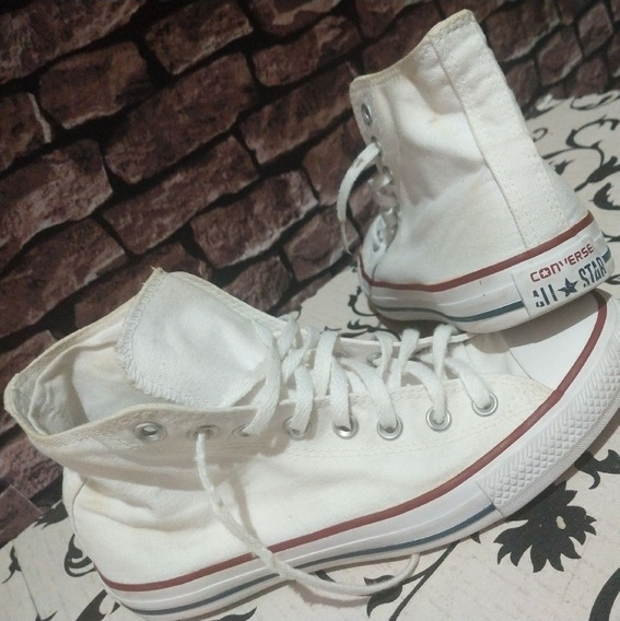 Converse All Star - Branco - Cano Alto - Original - Tam 39