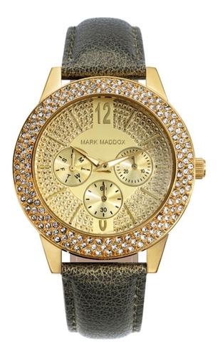 Reloj Mark Maddox Mujer De Lujo En Cuero