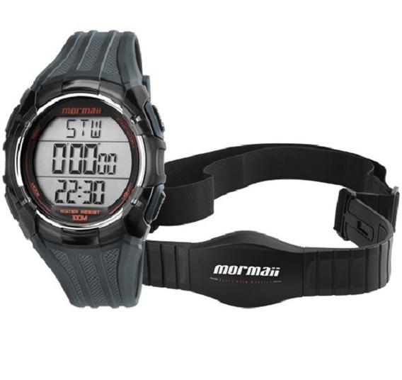 Relógio Mormaii Frequencímetro Unissex Mo11558a/8r Digital