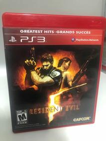 Jogos De Ps3 Mídia Física(cd) Resident Evil 5