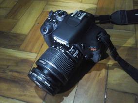 Câmera Canon T3i + 4 Lentes + Flash + Tripé + Acessórios