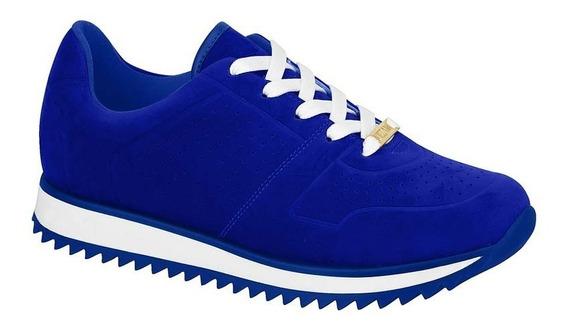 Tênis Feminino Vizzano 1234125 Azul Casual Trator Promoção