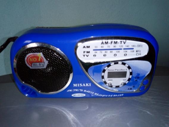 Mini Rádio Am/fm