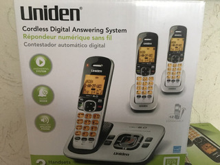 Contestador Automático Digital Y 3 Teléfonos Inalámbricos