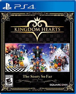 Kingdom Hearts The Story So Far Ps4 Físico Nuevo Sellado