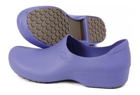 Sapato Hospitalar Antiderrapante Sticky Shoe Branco