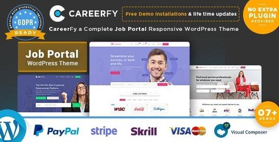 Careerfy - Job Board Wordpress Theme