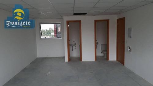 Sala Para Alugar, 41 M² Por R$ 1.300,00/ano - Vila Bastos - Santo André/sp - Sa0314
