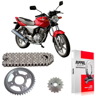 Kit Transmision Riffel Honda Cg Titan 150 Full Fas Motos