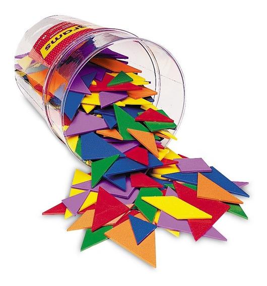 Learning Resources Set De Tangrams En 6 Colores