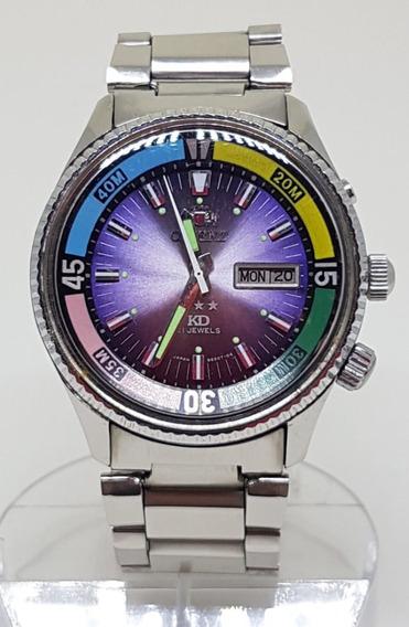 Relogio Orient King Diver Ano 70 Estado De Zero Automatico