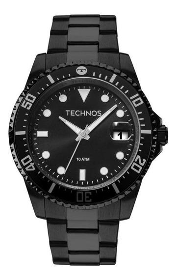 Relógio Masculino Technos Preto 2415cl/4p