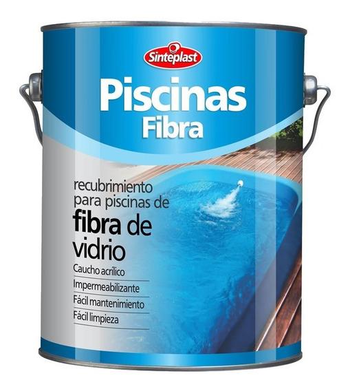 Pintura Para Piletas De Plastico Fibra Sinteplast 4 Lts