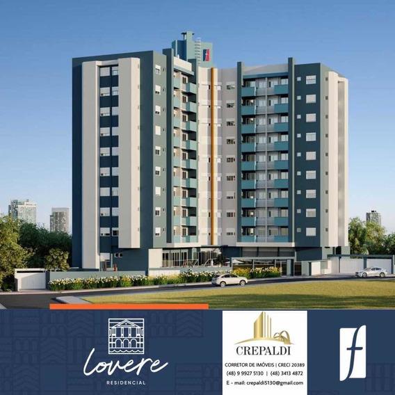 Apartamento 2 Quartos Com Suíte, Resid. Lovere - Criciúma/sc
