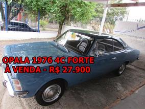 Opala 1976 - 4c Forte Vale Conferir - Ateliê Do Carro