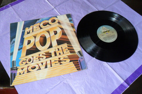Lp Vinil.meco; Pop Goes The Movies.