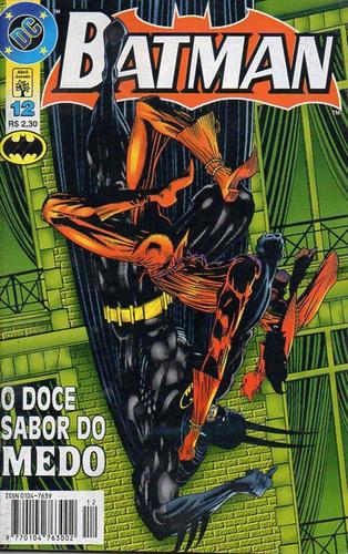 Imagem 1 de 1 de Batman 12 Dc Comics Abril Jovem 1997